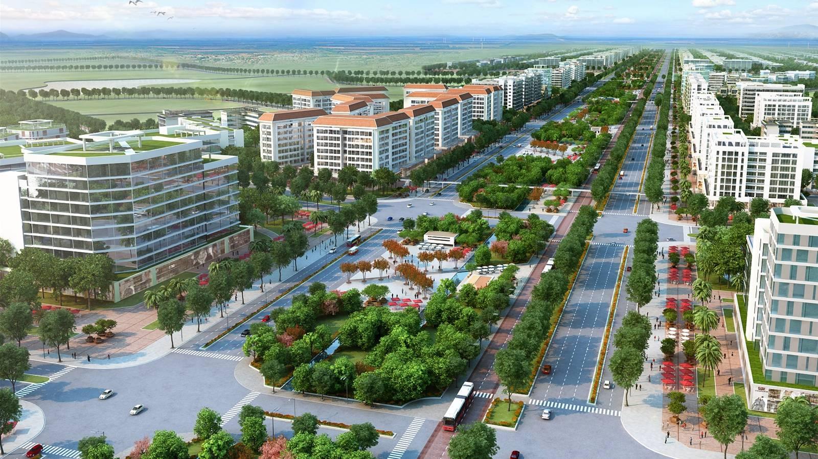 Quyết định cuat Thủ tướng Chính phủ về mở rộng không gian Thành phố Vinh bao gồm Cửa Lò và một phần của Nghi Lộc