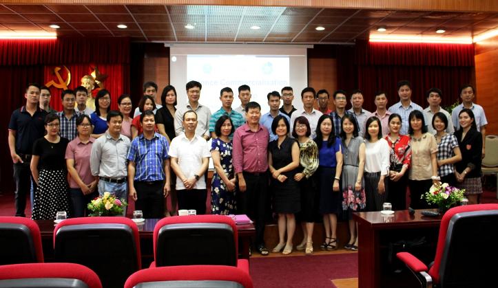 Viện Hàn lâm Khoa học và Công nghệ Việt Nam tổ chức Hội thảo đào tạo về Thương mại hóa kết quả nghiên cứu khoa học