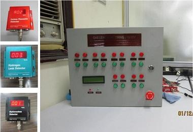 Hệ đo và cảnh báo nồng độ khí độc (CO), khí cháy nổ (HC) trong môi trường không khí