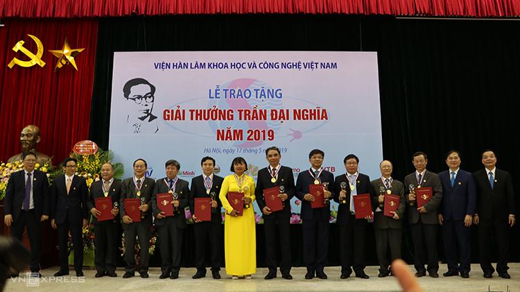 Viện Khoa học vật liệu có một cá nhân vinh dự được nhận Giải thưởng Trần Đại Nghĩa năm 2019