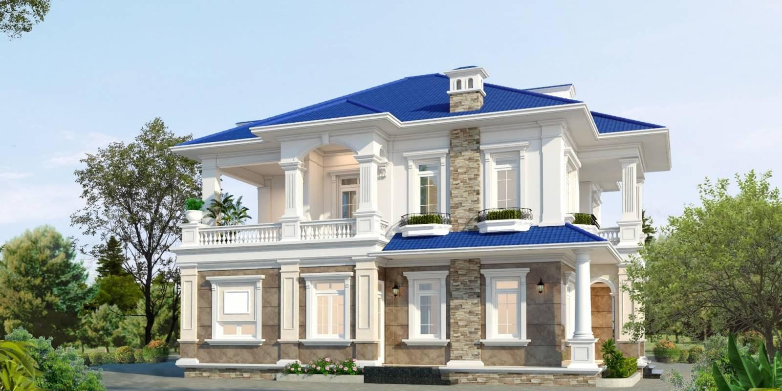 Dự án thiết kế biệt thự tân cổ điển