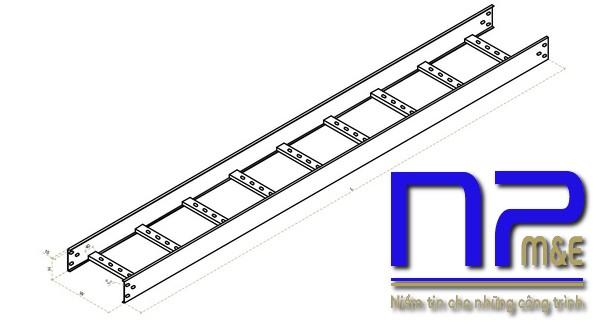 Cấu tạo của một chiếc thang cáp cơ bản