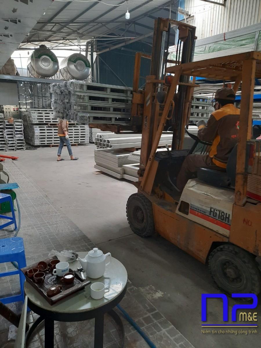 Đơn hàng thang cáp sơn tĩnh điện tại xưởng sơn NP Việt Nam7
