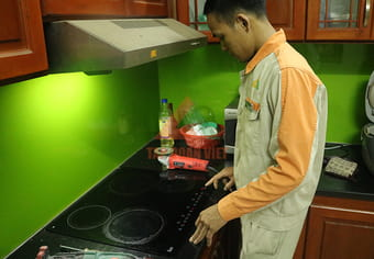 Quy trình sửa bếp điện từ munchen chuyên nghiệp