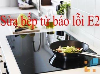 Hiện tượng bếp từ fasterbáo lỗi không dùng được
