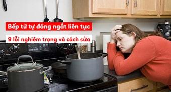 Sửa bếp từ faster ngay khi bếp hỏng không dùng được