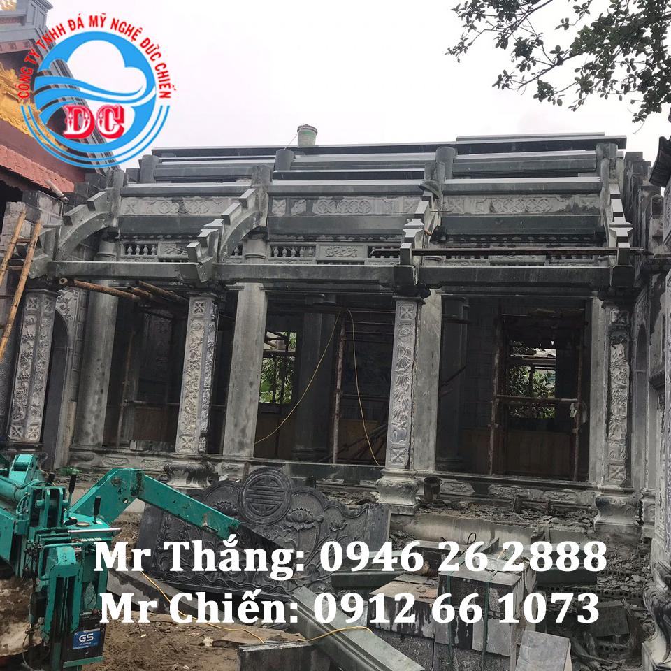 Mẫu nhà thờ bằng đá nguyên khối của gia đình Bác Nở tại Hoằng Hóa Thanh Hóa