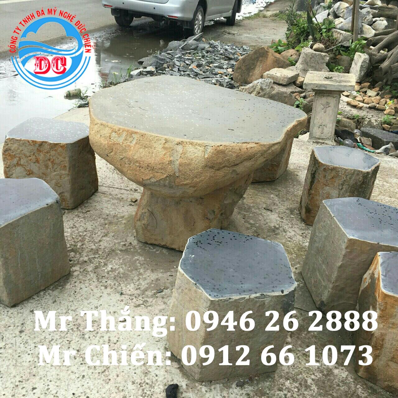 Mẫu bàn ghế đá- Mẫu sản phẩm cao cấp, chế tác đẹp, bảo hành trọn đời
