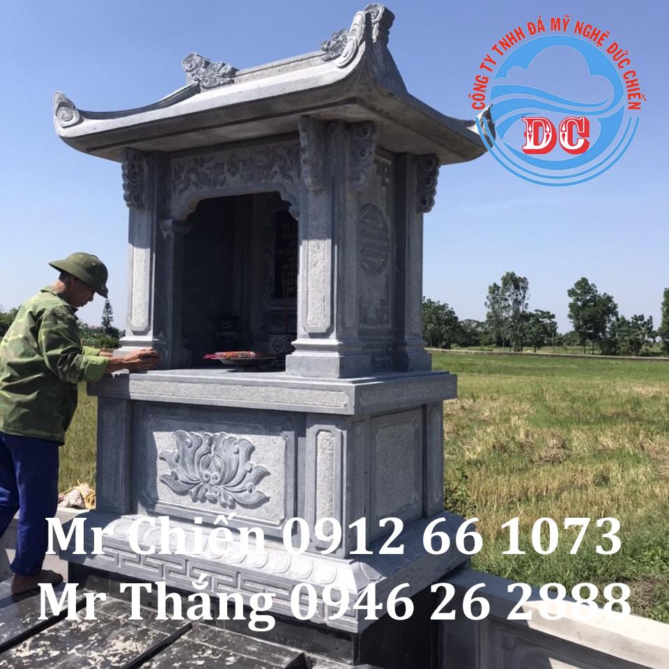 Lăng thờ đá mẫu LTĐC006 - Đá Mỹ Nghệ Đức Chiến
