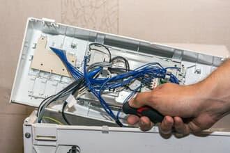 Máy giặtelectrolux bị ẩm, bị hỏng main mạch khi sử dụng