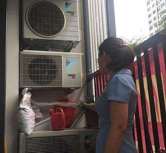 Sửa điều hòa daikin tự bật tự tắt tại nhà chung cư