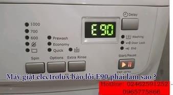 Chuyên sửa máy giặt electrolux báo lỗi tại nguyễn trãi