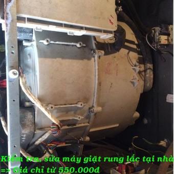 Kiểm tra,sửa chữa máy giặt tại nhà 15p là có mặt