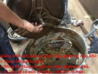 Máy giặt hay kêu to, rung lắc mạnh khi giặt hoặc vắt