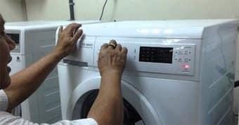 Chuyên sửa máy giặt mất nguồn, máy giặt k lên đèn