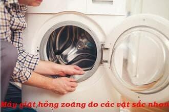 Thay zoăng cửa máy giặtelectroluxchính hãng