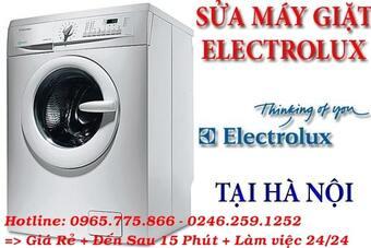 Cơ sở bảo hành sửa chữa máy giặt electrolux thái thịnh
