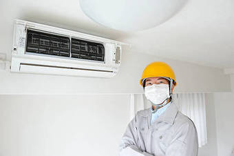 Professional air conditioning repair process