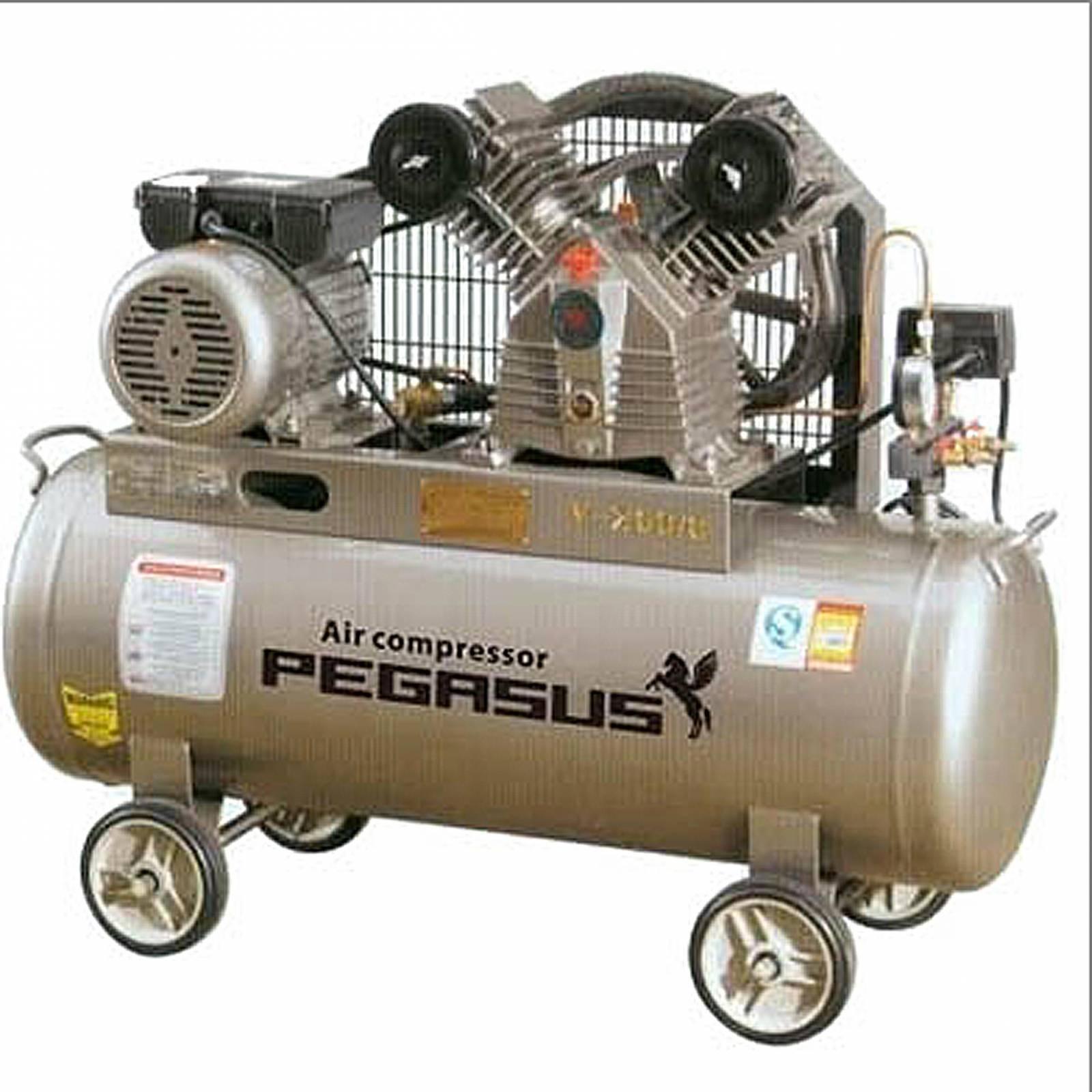 Máy nén khí piston PEGASUS TM-V-0.12/8 70L