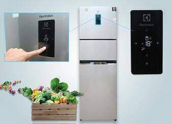 Sửa tủ lạnh electrolux nháy đèn, báo lỗi ở màn hình