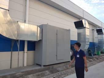 Lắp đặt hệ thống hút mùi chonhà xưởng sảnxuất