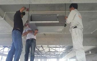 Quy trình lắp đặt điều hòa/Máy lạnh - Giải pháp cho nhà việt