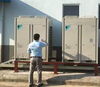 Lắp đặt hệ thống điều hòa không khí chonhà xưởng