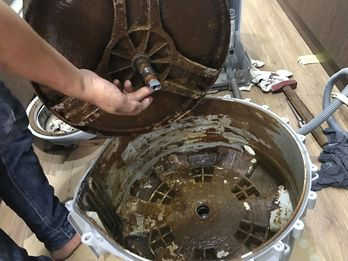 Sửa máy giặt Kêu to, Rung lắc tại nhà_Cty sửa máy giặt Hà nội